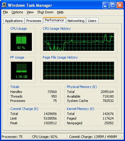 Windows Performance Monitor